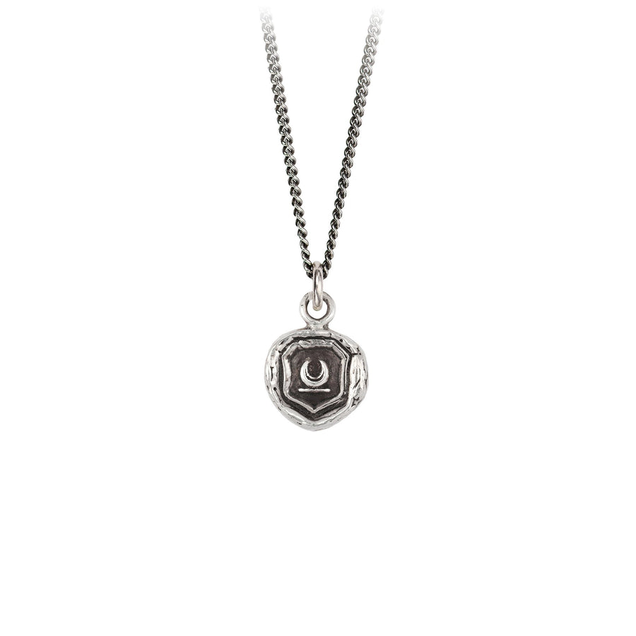 Sterling Silver Talisman Necklace - New Beginnings