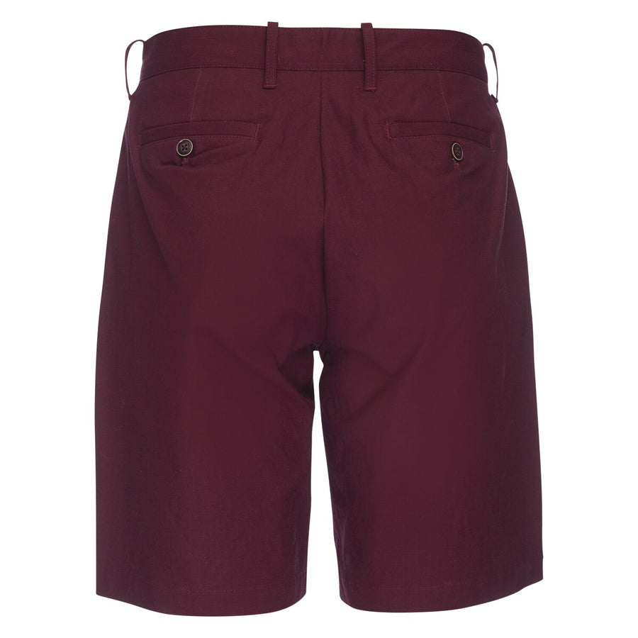 Morgan Bermuda Short in Stretch Ripstop - Burgundy