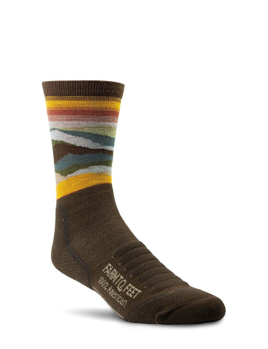 Max Patch - All Season Trail Sock - Turkish Coffee
