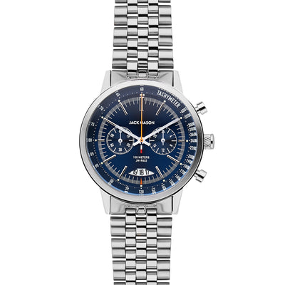 Racing Chrono SS - Navy Dial - SS Bracelet