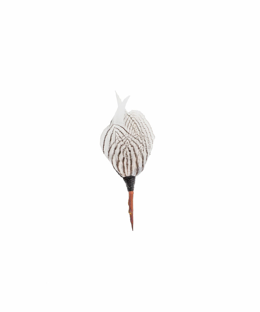 Steel City Lapel Pin - Pheasant Feathers