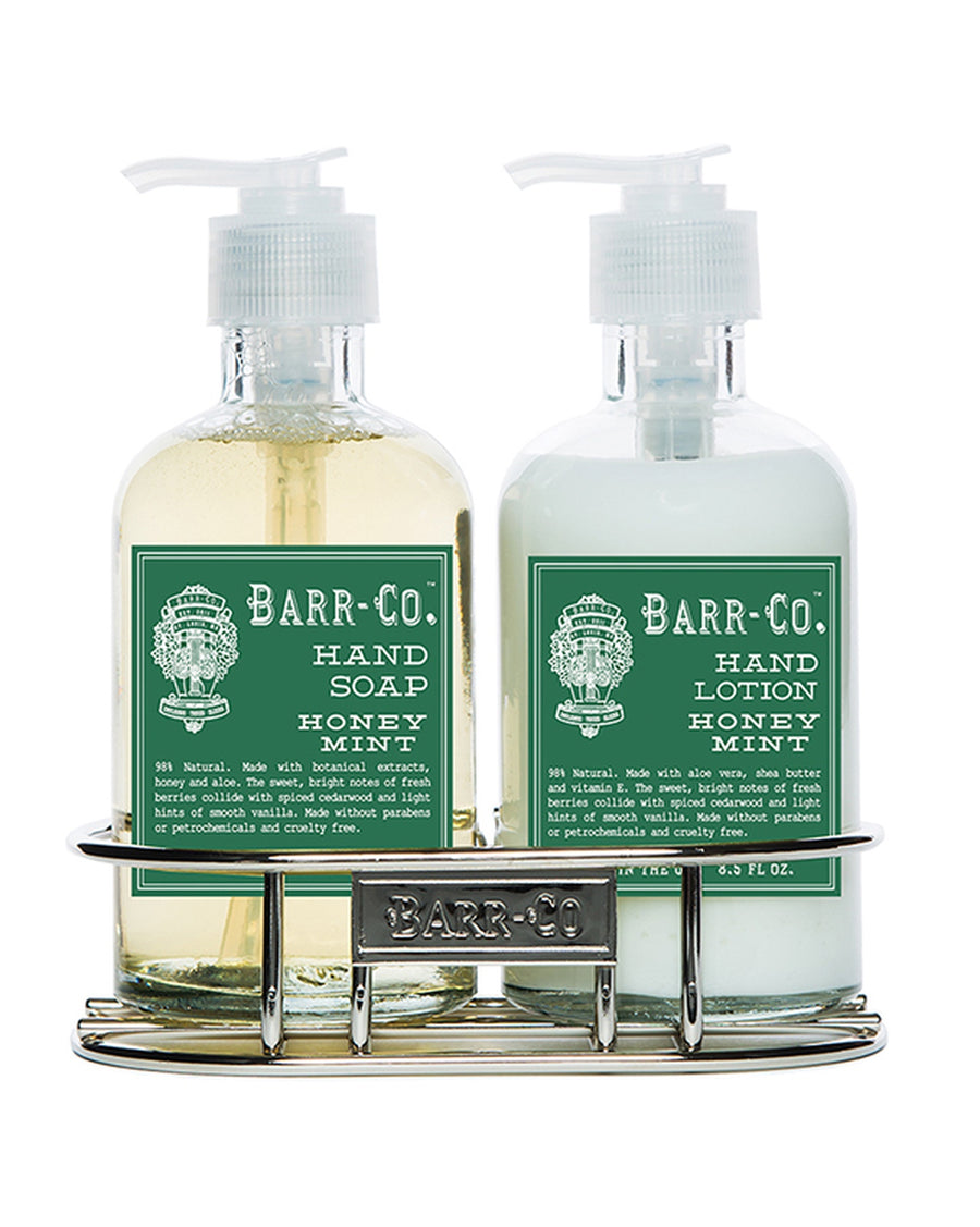 Hand Soap / Lotion Caddy - Honey Mint