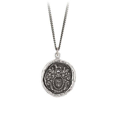 Sterling Silver Talisman Necklace - Authentic