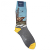 Bear Scene Cotton Socks