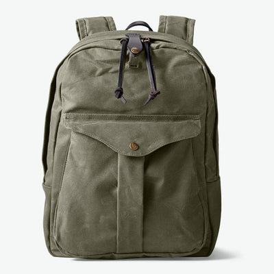 Jouneyman Backpack in Rugged Twill - Otter Green