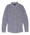 Linen Chambray Shirt - Blue