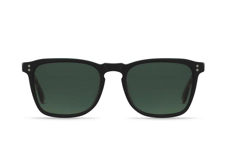 Wiley - Matte Black & Matte Brindle_Green Polarized