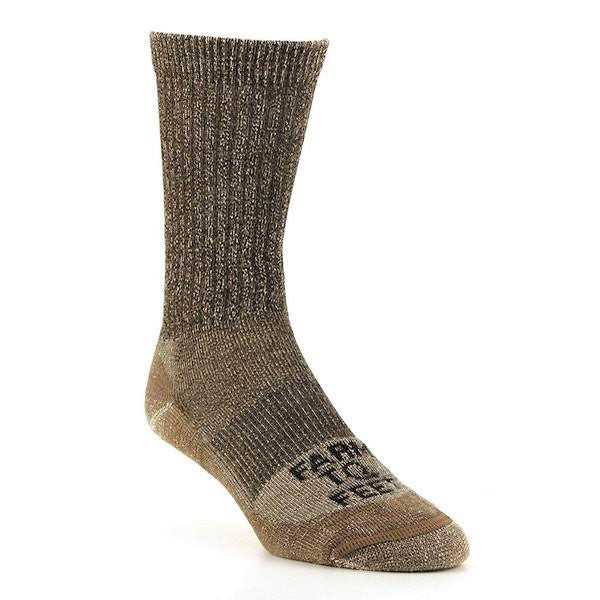 Boulder No Fly Zone Hiking Sock - Brown