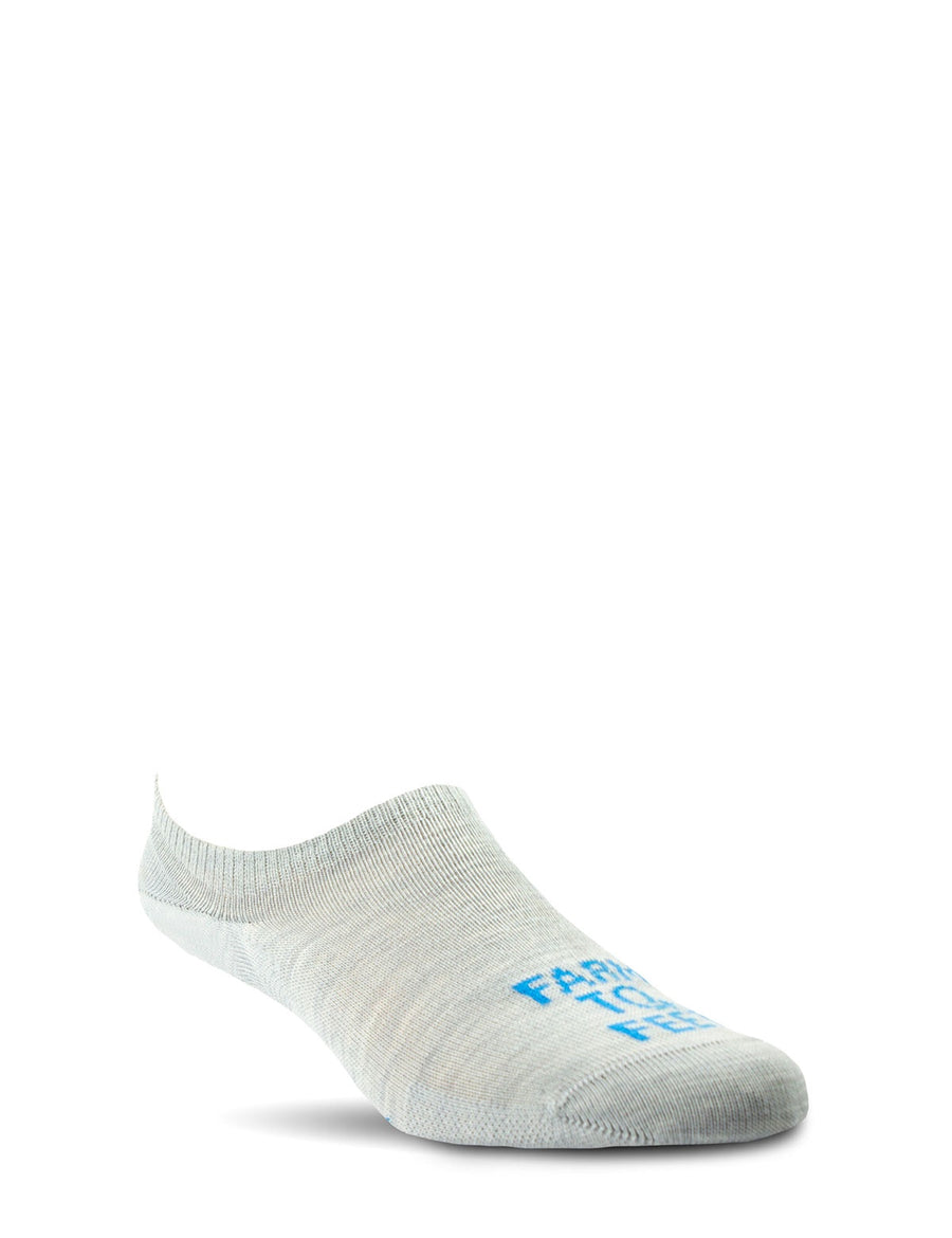 Dobson - No Show Sock - Silver