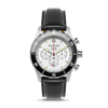 Nautical Halyard Sport SS - White Dial - Black Leather