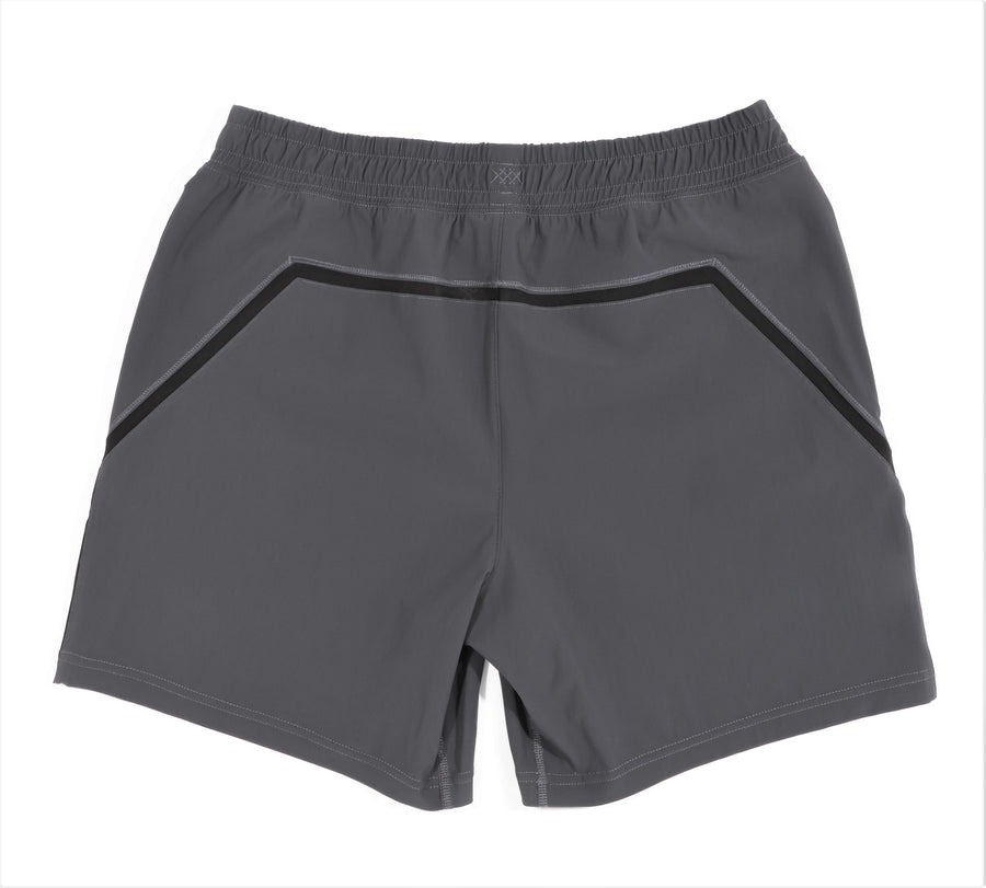 "7"" Versatility Short Unlined - Asphalt"