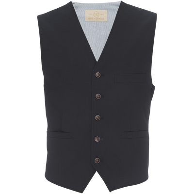Albert Vest in Black Stretch Ripstop