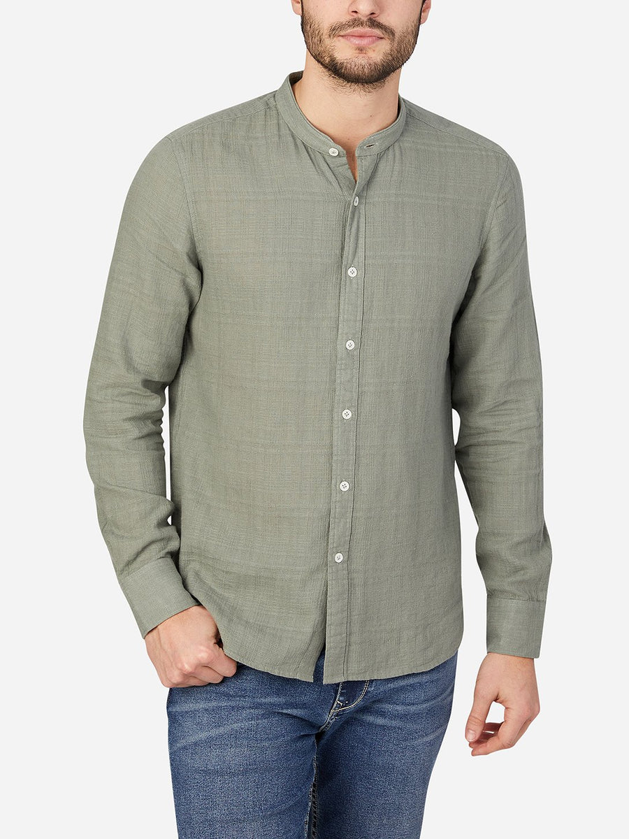 Aleks Linen Shirt - Light Green
