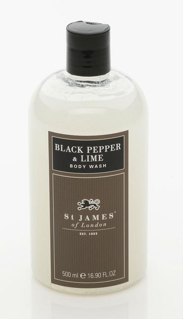 Black Pepper & Persian Lime - Body Wash