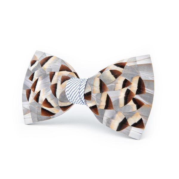 Brockman Bow Tie - Partridge Feathers
