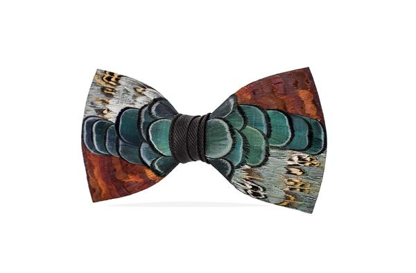 Colleton Bow Tie - Pheasant Feathers