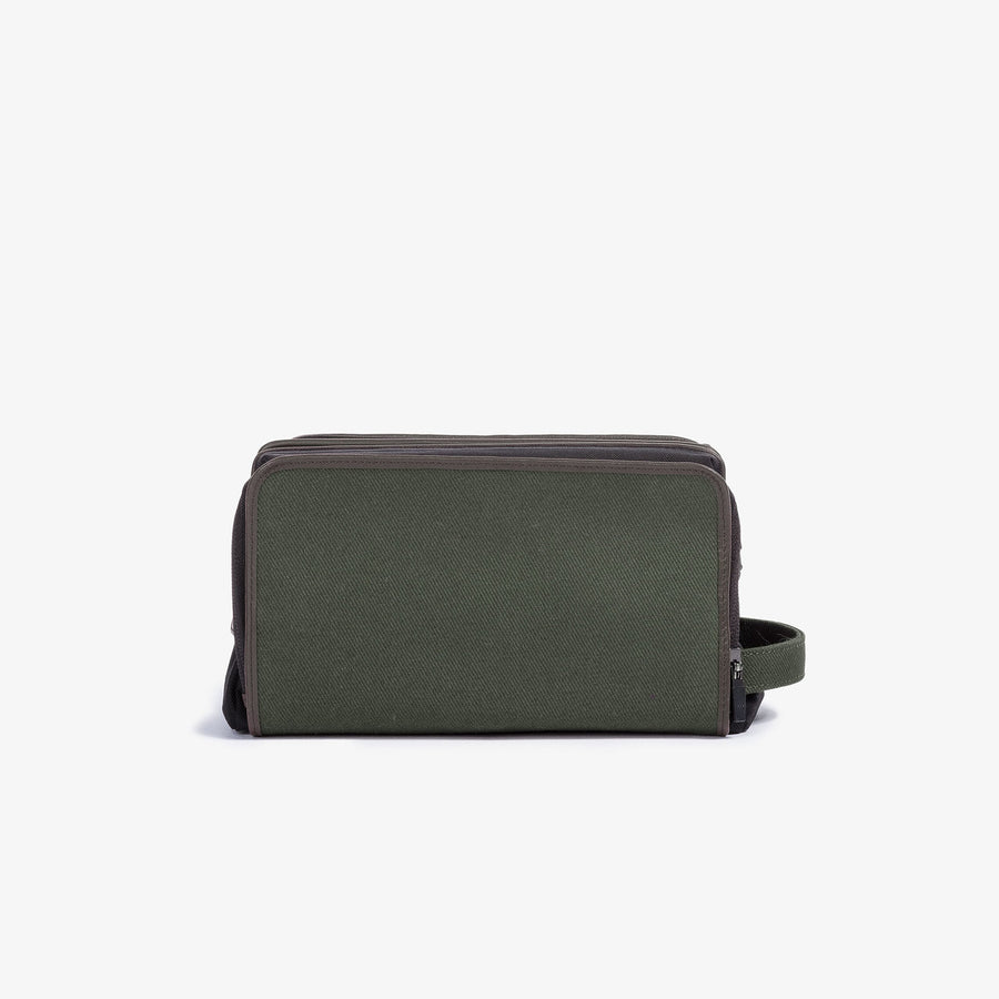 Travel Dopp Kit - Olive Twill