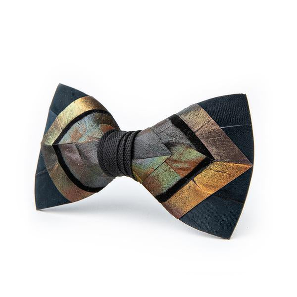 Ferrelle Bow Tie - Turkey & Goose Feathers