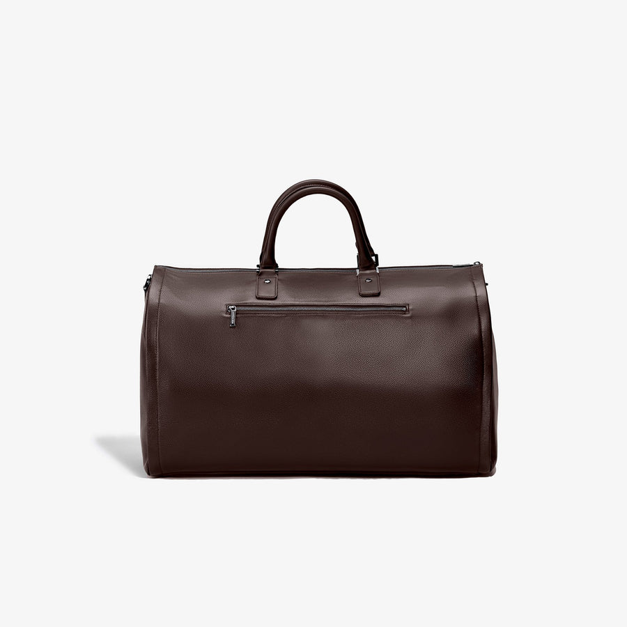 Garment Weekender Bag - Espresso Leather