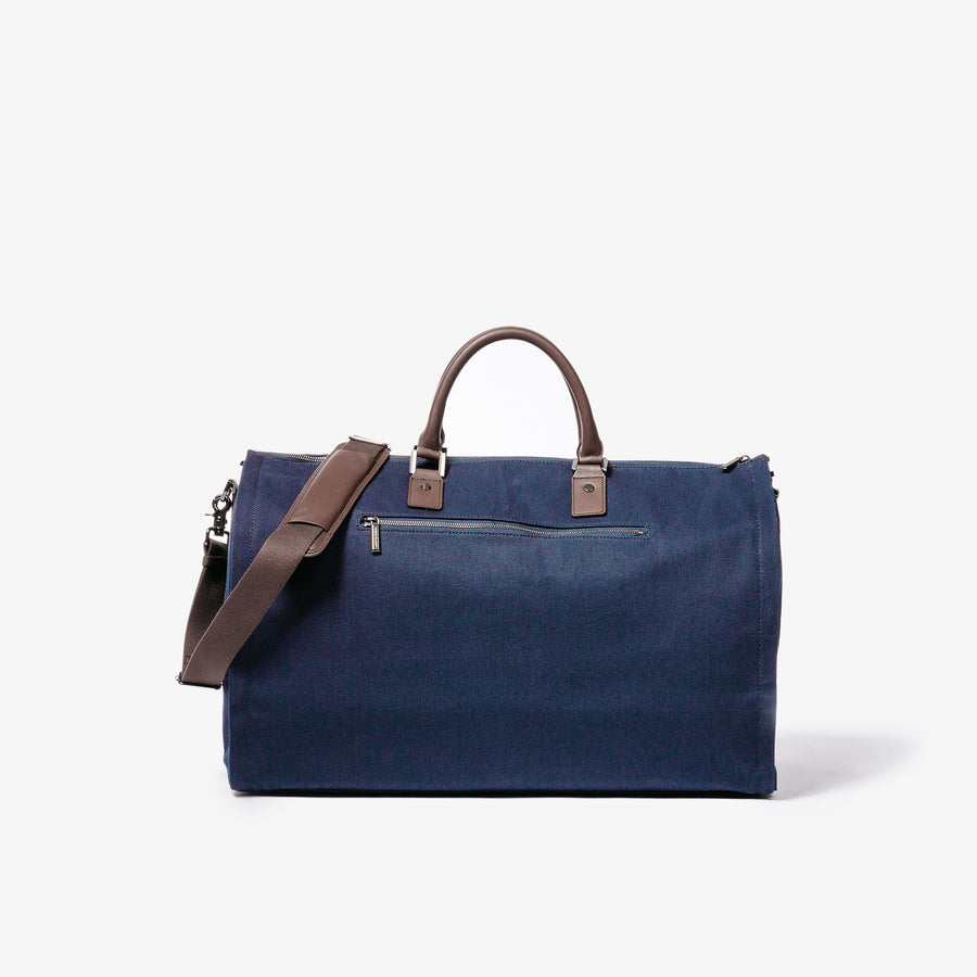 Garment Weekender Bag - Navy Canvas
