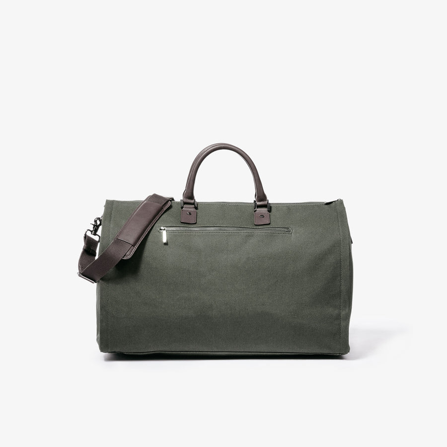 Garment Weekender Bag - Olive Canvas
