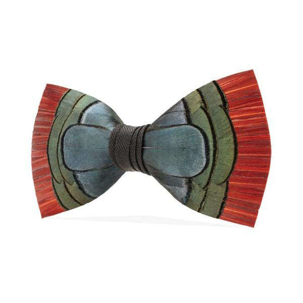 Hemingway Bow Tie - Pheasant Feathers