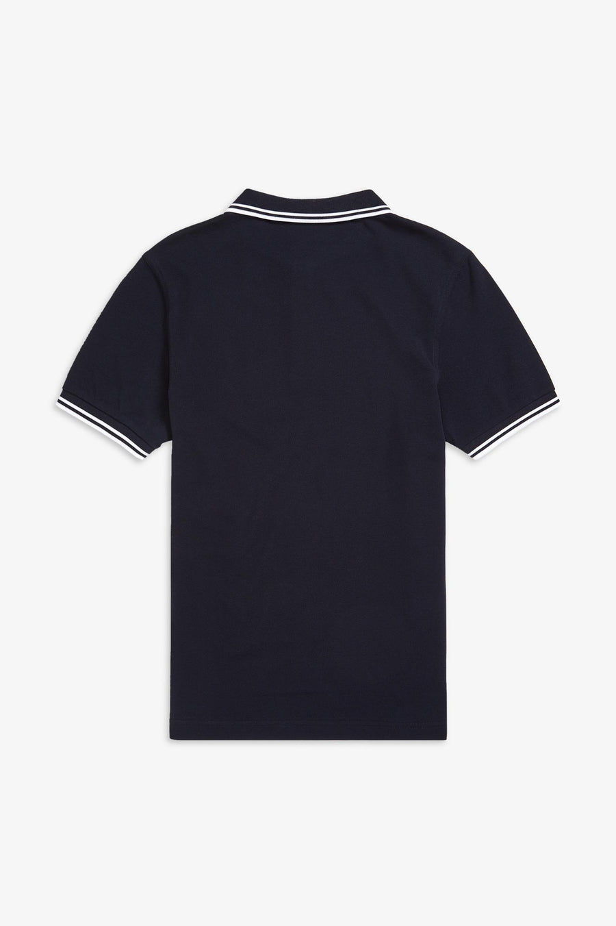Twin Tipped Fred Perry Shirt / Navy-White-White