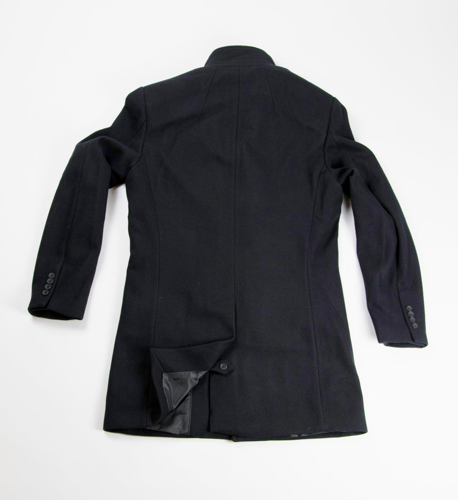 Maine Overcoat - Black