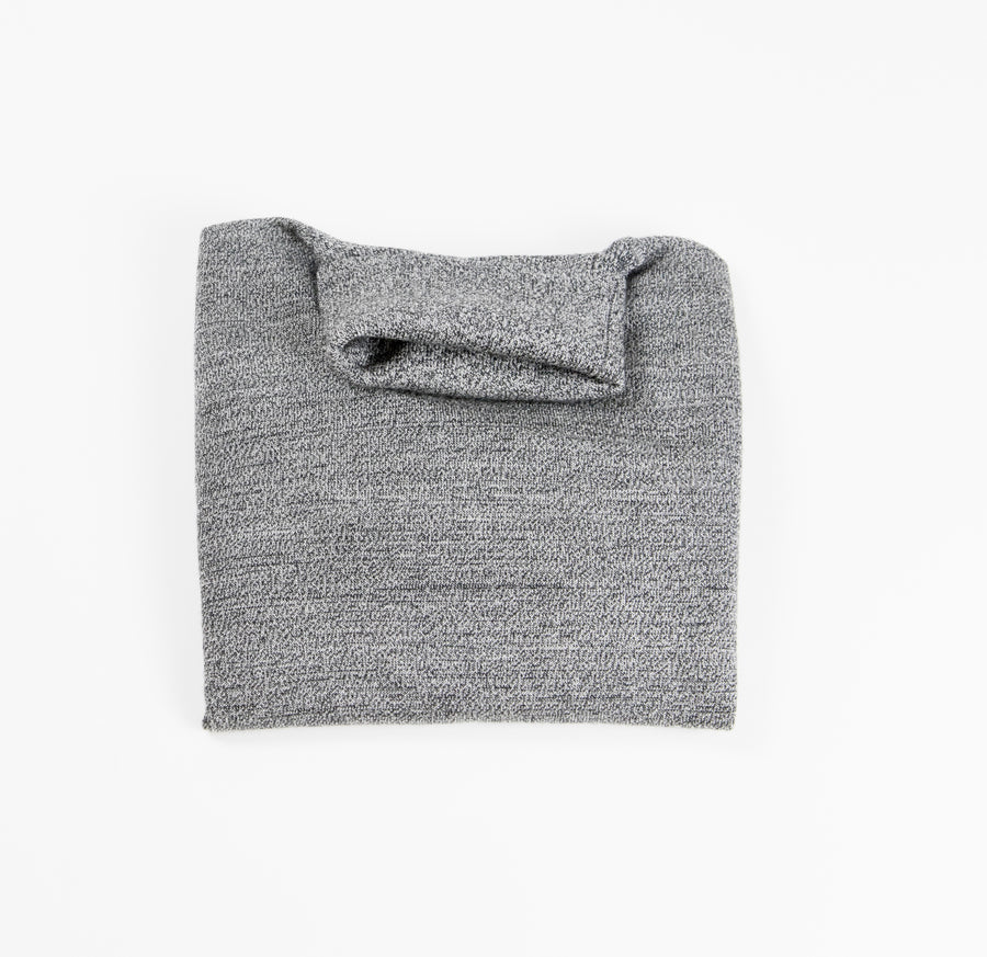 Saturn Wool-Blend Turtleneck - Pepper