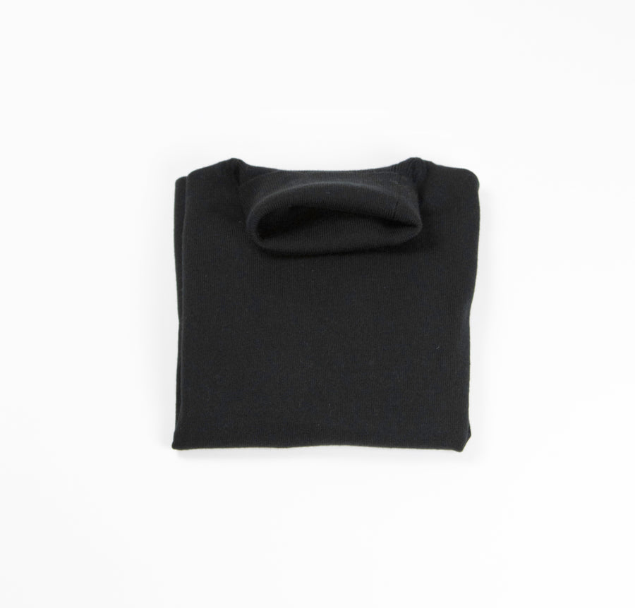 Saturn Wool-Blend Turtleneck - Black