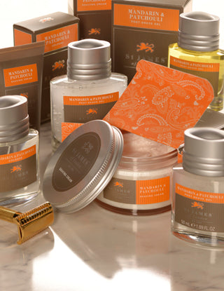 Mandarin & Patchouli - Shave Cream Jar