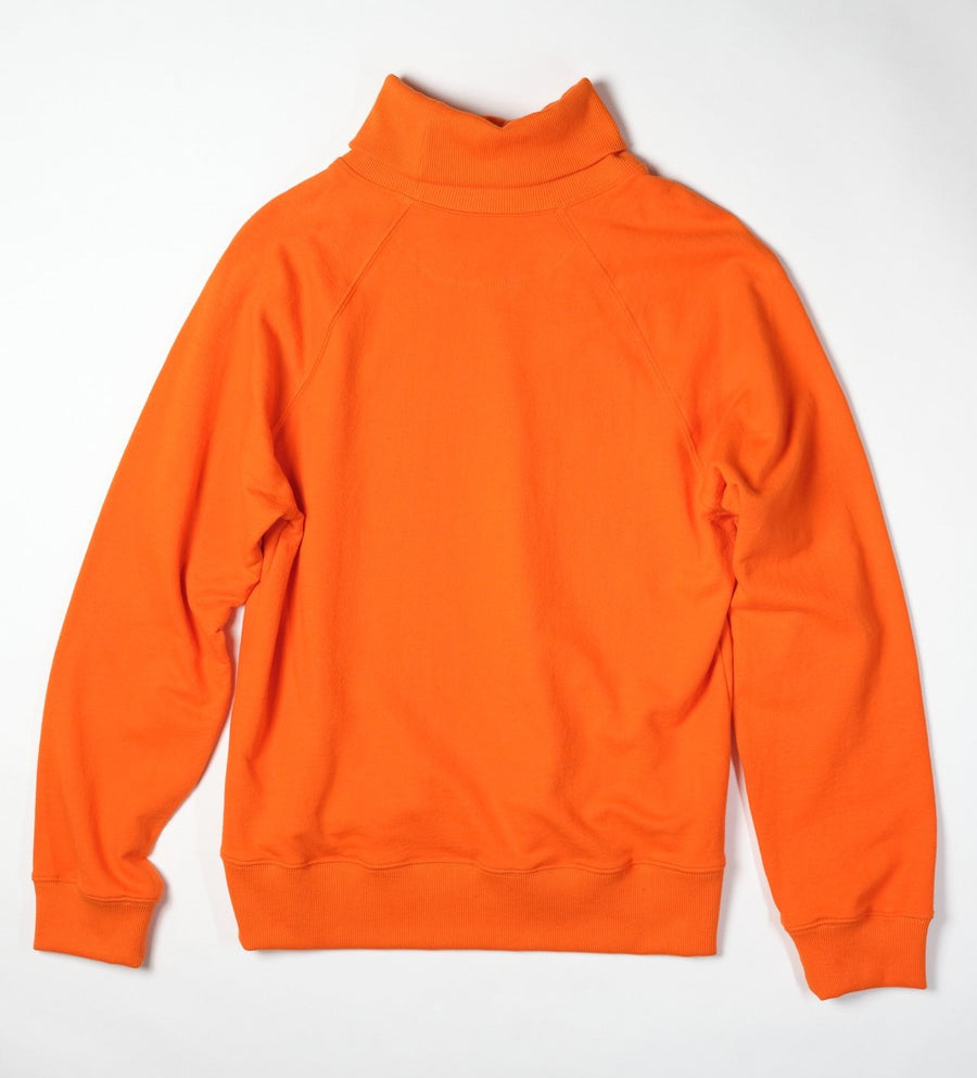 Charles Sweatshirt Turtleneck - Orange