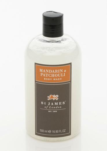Mandarin & Patchouli - Body Wash