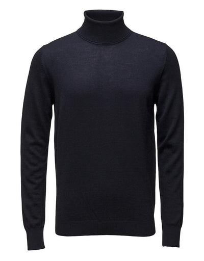 Saturn Wool-Blend Turtleneck - Charcoal