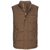 Quilted Vest - Brown