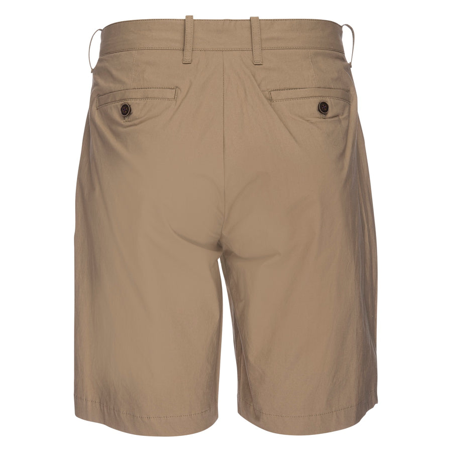 Morgan Bermuda Short in Typewriter Cloth - Tan