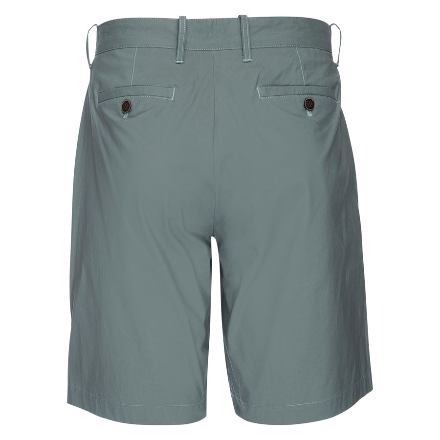 Morgan Bermuda Short in Typewriter Cloth - Seafoam