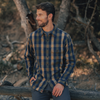 Boone Heavy Brushed Twill - Dune Plaid