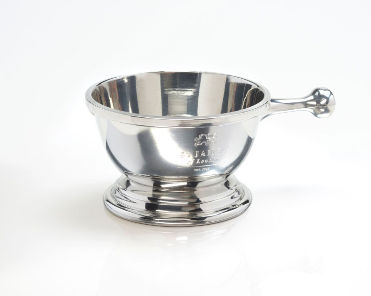 Handmade Pewter English Shave Bowl