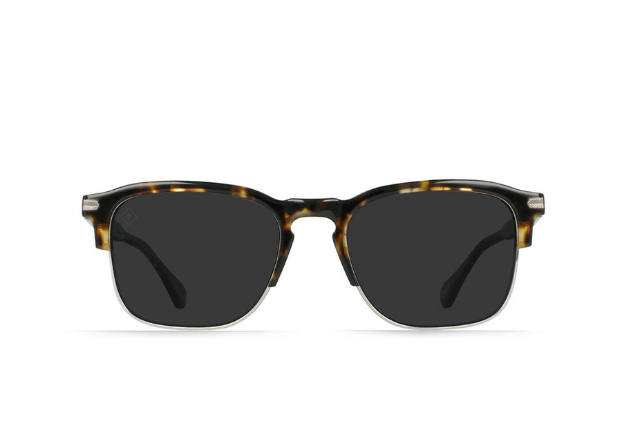Wiley Alchemy - Brindle Tortoise & Light Gunmetal_Smoke Polarized