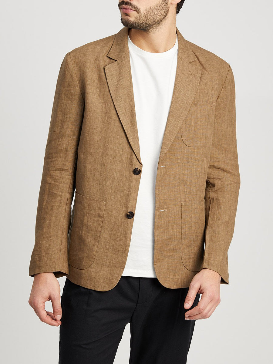 Emery Blazer - Light Brown
