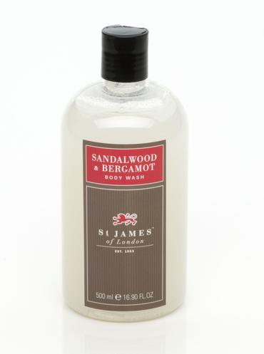 Sandalwood & Bergamot - Body Wash