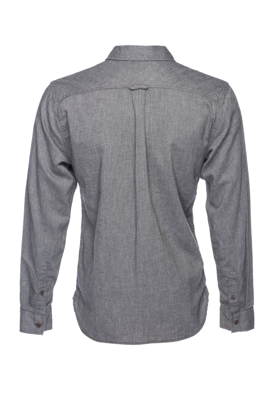 Truman Solid Brushed Cotton - Charcoal