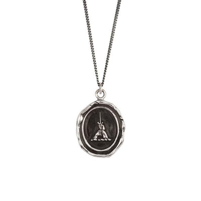 Sterling Silver Talisman Necklace - Brotherhood