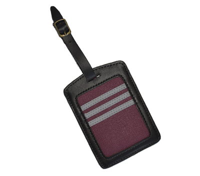 York Travel Tag - Maroon