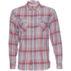 Truman Flap Pocket Plaid Shirt - Red