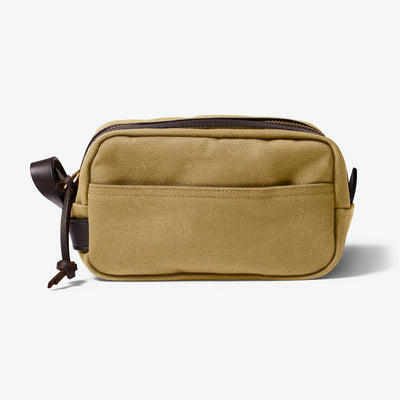 Travel Kit in Rugged Twill - Tan