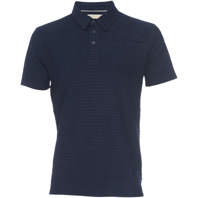 Nicholas Modal Polo - Striped Dobby
