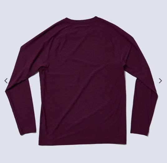 Reign Long Sleeve - Black/Fuschia