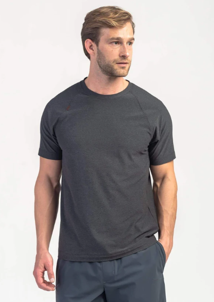 Reign Short Sleeve - Black Heather